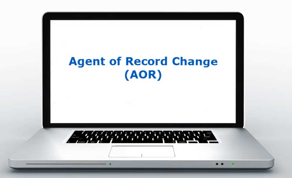 Agent of Record Change