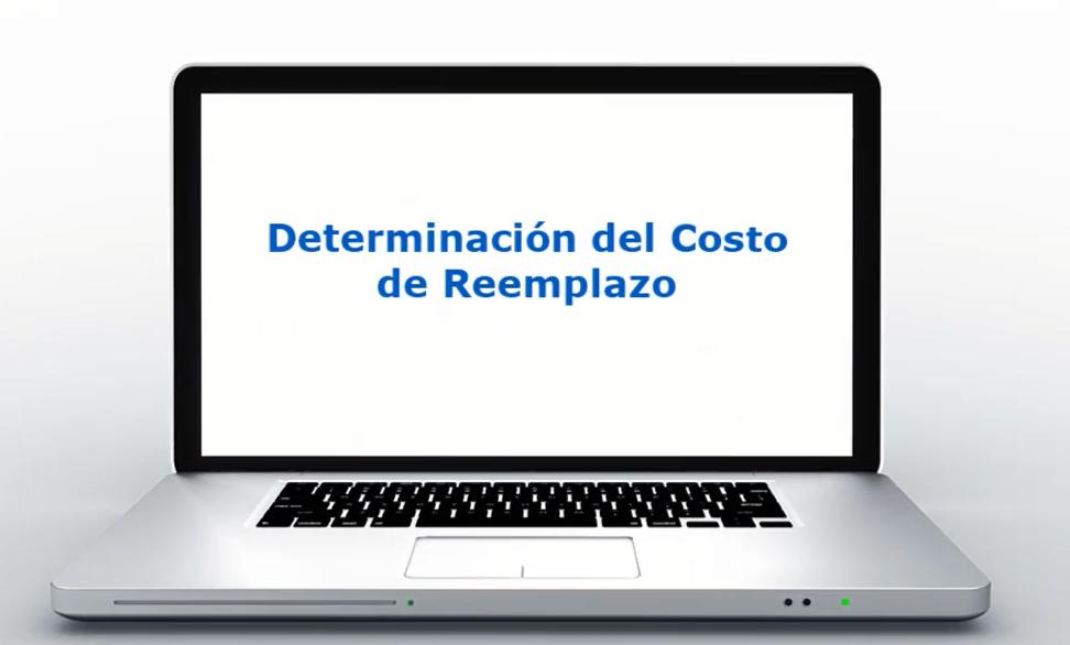 Determinacion del costo de reemplazo